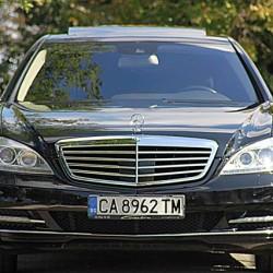 BM Leasing Mercedes S Class front