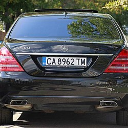 BM Leasing Mercedes S Class back