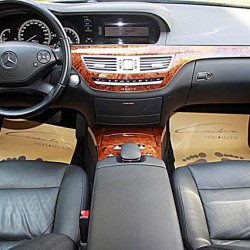 BM Leasing Mercedes S Class interior