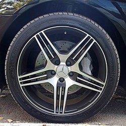 BM Leasing Mercedes S Class wheels